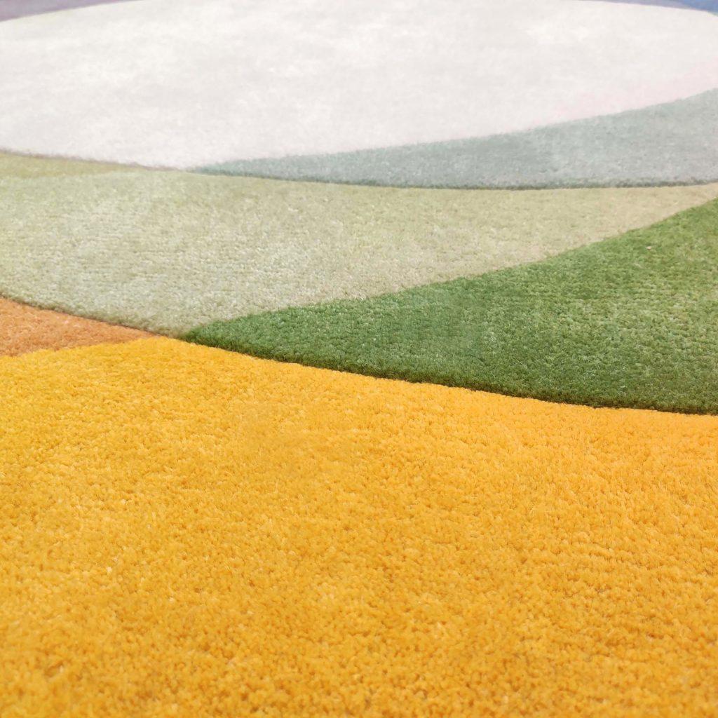Colourful Designer Rug - Colorwheel Rug