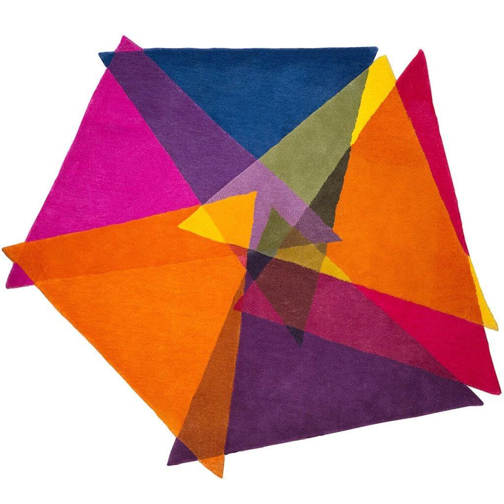 Colourful Modern Rugs - Vortex