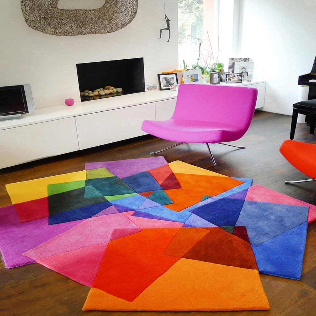 Contemporary Rugs - After Matisse Rug