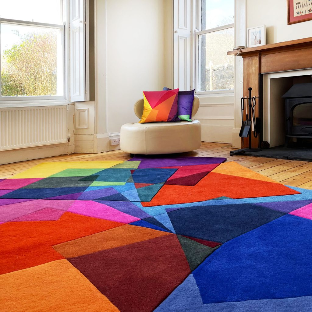 Large design rugs - After Matisse Rug