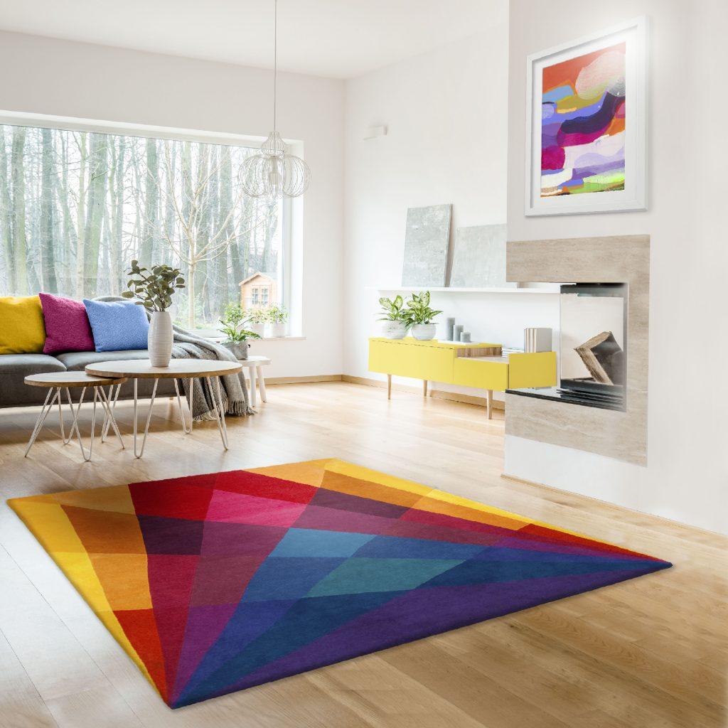 Rainbow-Coloured-Area-Rug