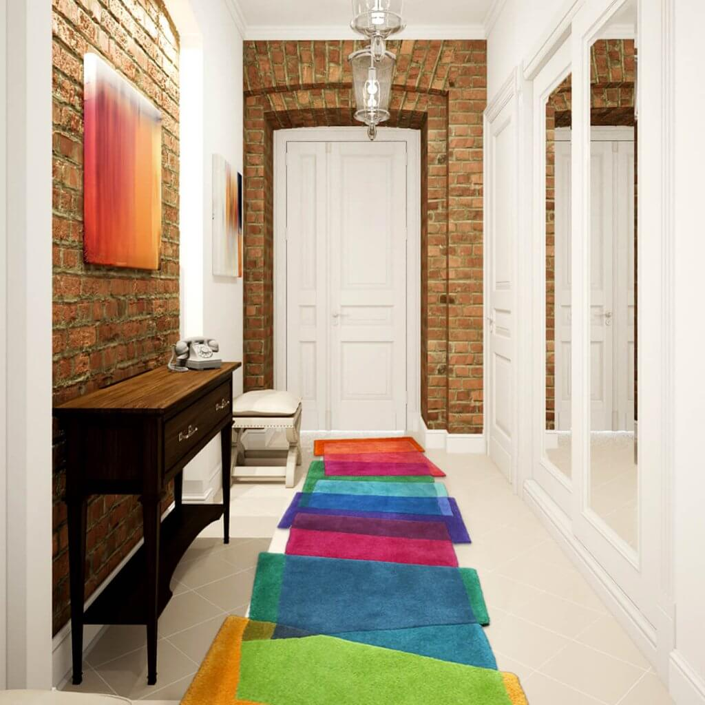 Colourful Hallway Runner Rug - Magci Stepping Stones