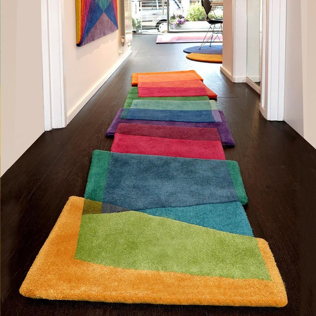 Hallway Runner Rug - Magic Stepping Stones